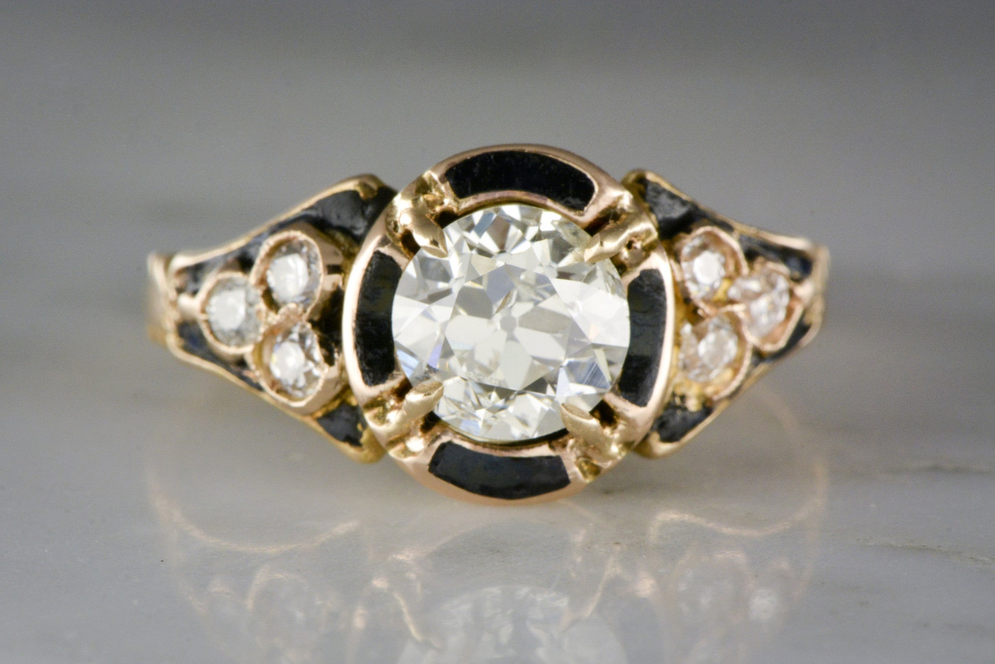 ecuatwitt vintage unique macys right contemporary ring hand diamond rings