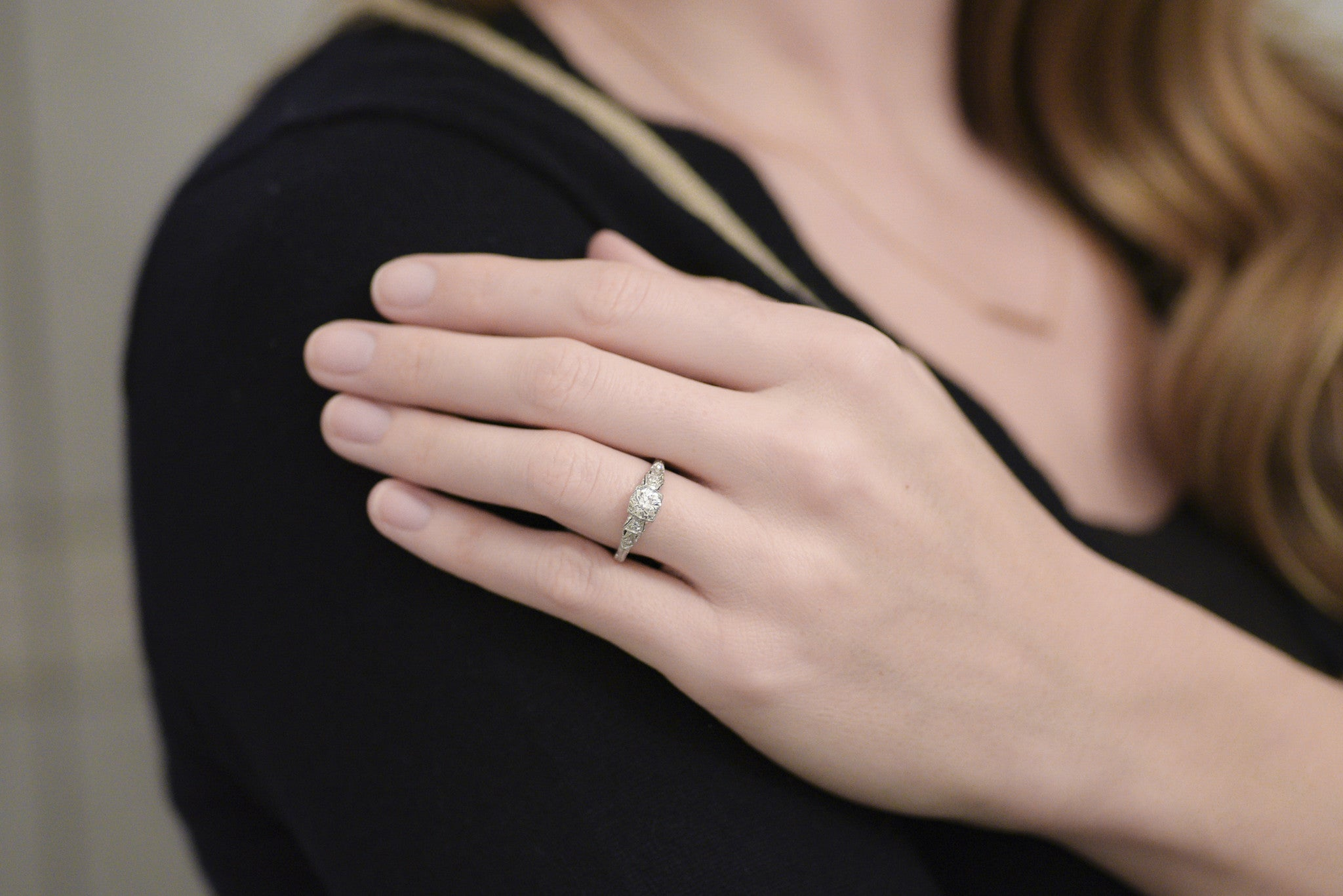 Antique Engagement Ring with French Japonisme Influences and ...