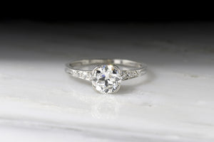 "Vintage Art Deco / Retro ""Marcus & Co."" Engagement Ring"