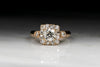 Antique Victorian Old European Cut Diamond Engagement Ring