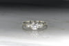 Art Deco / Mid-Century .95 Carat Old European Cut Diamond Engagement Ring