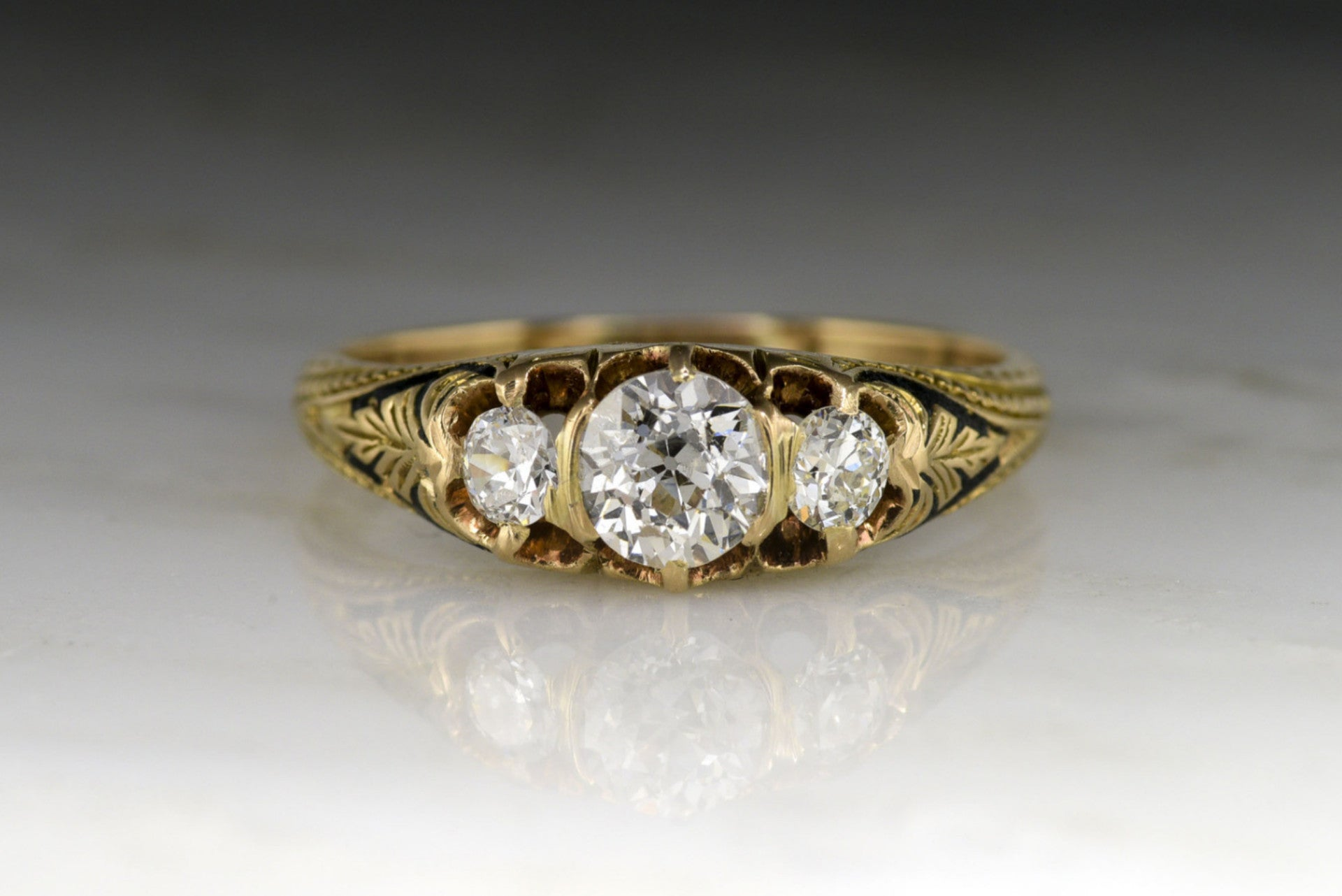 gh products vs dia diamond engagement mod three center ring quart halo canadian twig