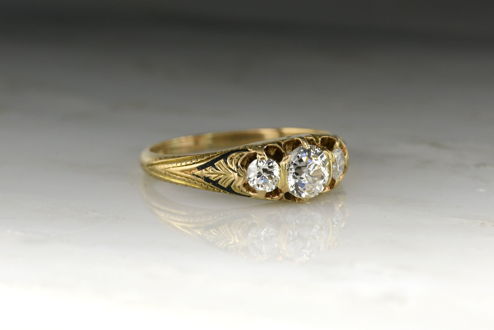 in w wedding white pin ring rings gold diamond t future ct past present