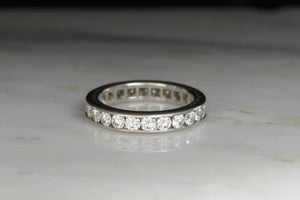 Van Cleef & Arpels Channel Set Diamond Eternity Band