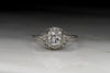 Vintage Edwardian .75 Carat Old European Cut Diamond Engagement Ring