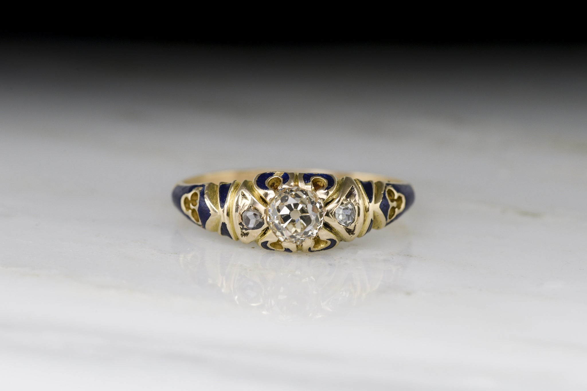 diamond pin pinterest eb rings old ring jewelry cut mine engagement