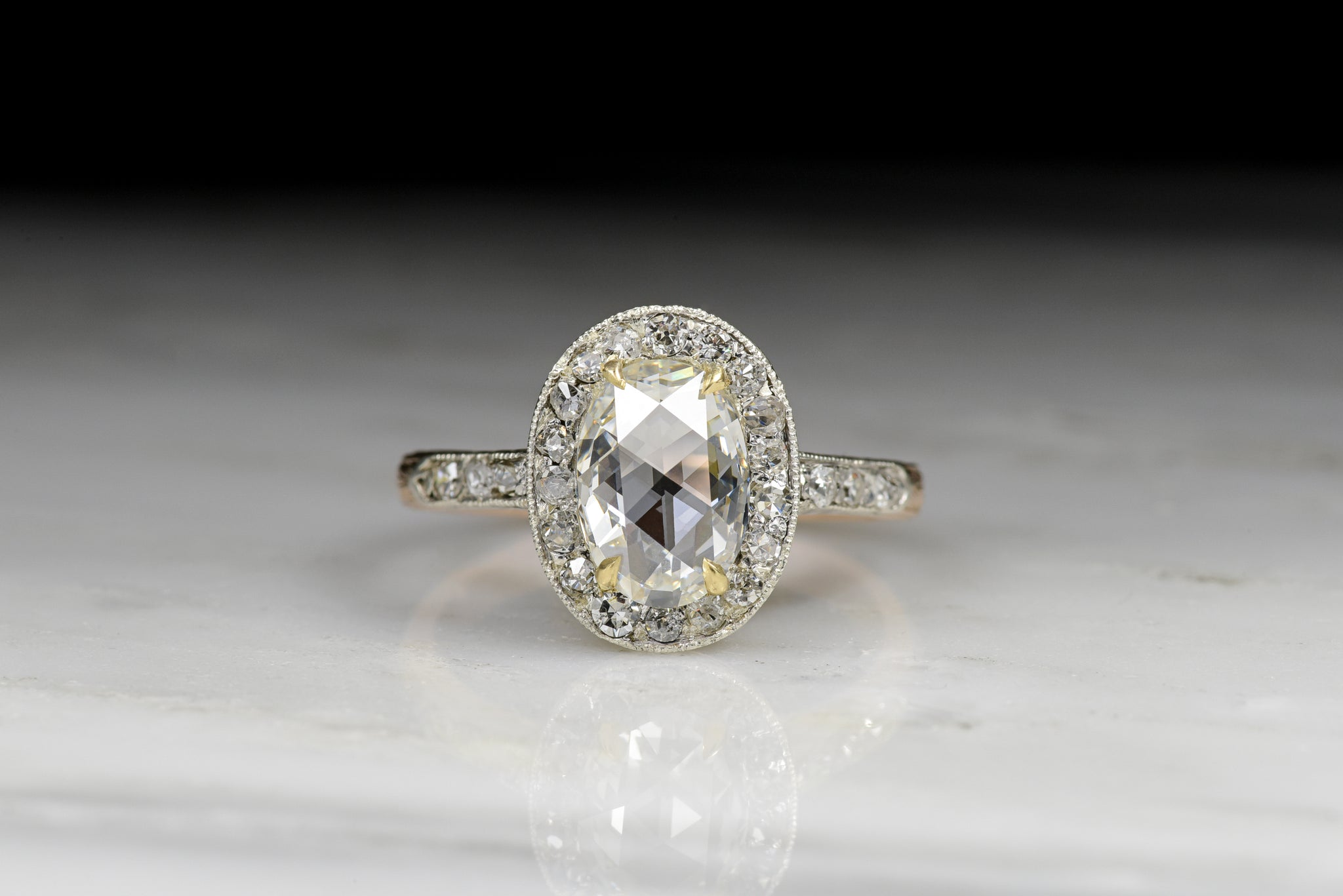 ring ct gold radiant diamonds engagement rings round certified gia white diamond loose
