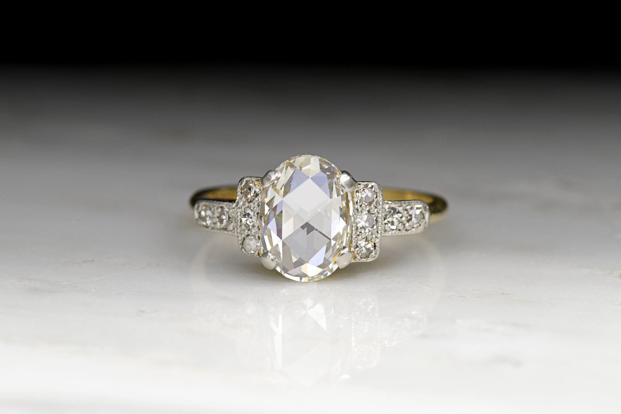 solitaire artemer ring products rings engagement colorless diamond pear daimond