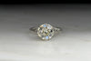 Antique Edwardian Engagement Ring with a GIA 1.82 Old European Cut Diamond