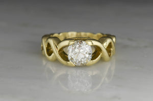 Vintage Verdura 1.41 Carat Diamond Ring