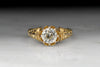 Victorian 1.04 Carat Old European Cut Diamond Engagement Ring