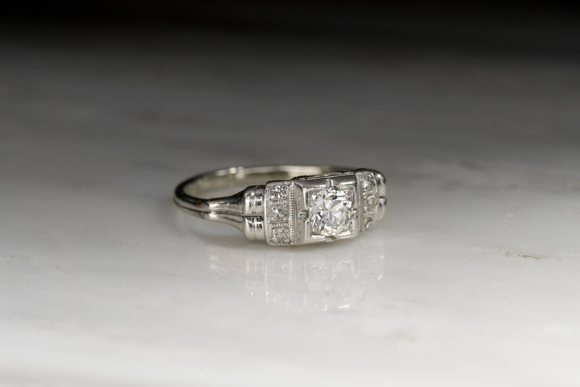 Vintage WWII Engagement Ring