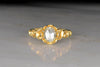 Victorian 1.01 Carat Oval Rose Cut Diamond Engagement Ring