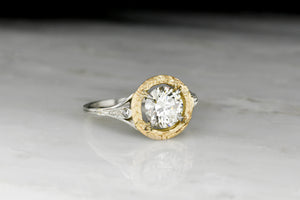 Greek-Inspired Belle Époque / Edwardian Diamond Engagement Ring