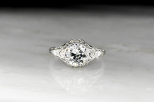 Exquisite 1910s-1920s Edwardian Engagement Ring