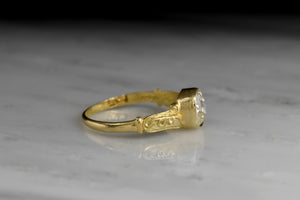 Antique English Engagement Ring from 1863