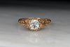 Antique Victorian Engagement Ring with a GIA Certified 1.05ct Old European Cut Diamond