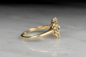 Victorian Old European Cut Diamond Engagement Ring