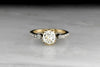 Reserved!!! 1.47 Carat Old Mine Cut Diamond in a Patinated Victorian Mount