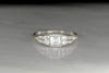 RESERVED!!! Art Deco Emerald Cut Diamond Engagement Ring