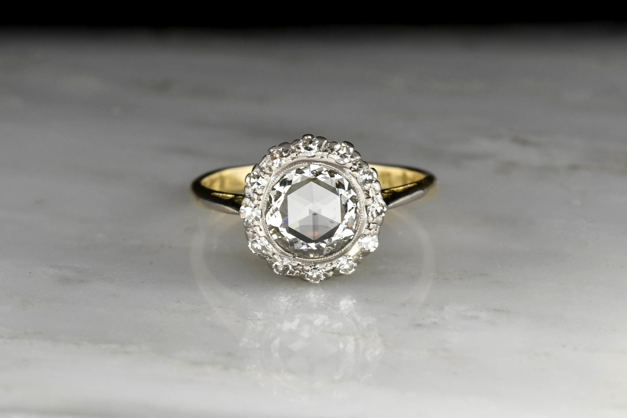 33abd05d98102 Antique Victorian Engagement Rings - Pebble and Polish
