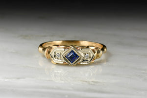 Late Art Deco Two-Toned Right-Hand Ring