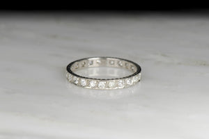 Art Deco Eternity Band