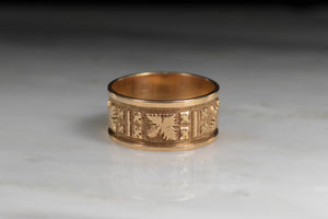 Victorian Bas-Relief Cigar Band