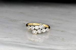 c. 1900 Edwardian / Belle Époque Old Mine Cut Diamond Ring