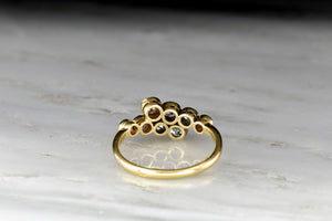 RESERVED!!! c. 1900s Belle Époque Old Mine Cut Diamond Ring