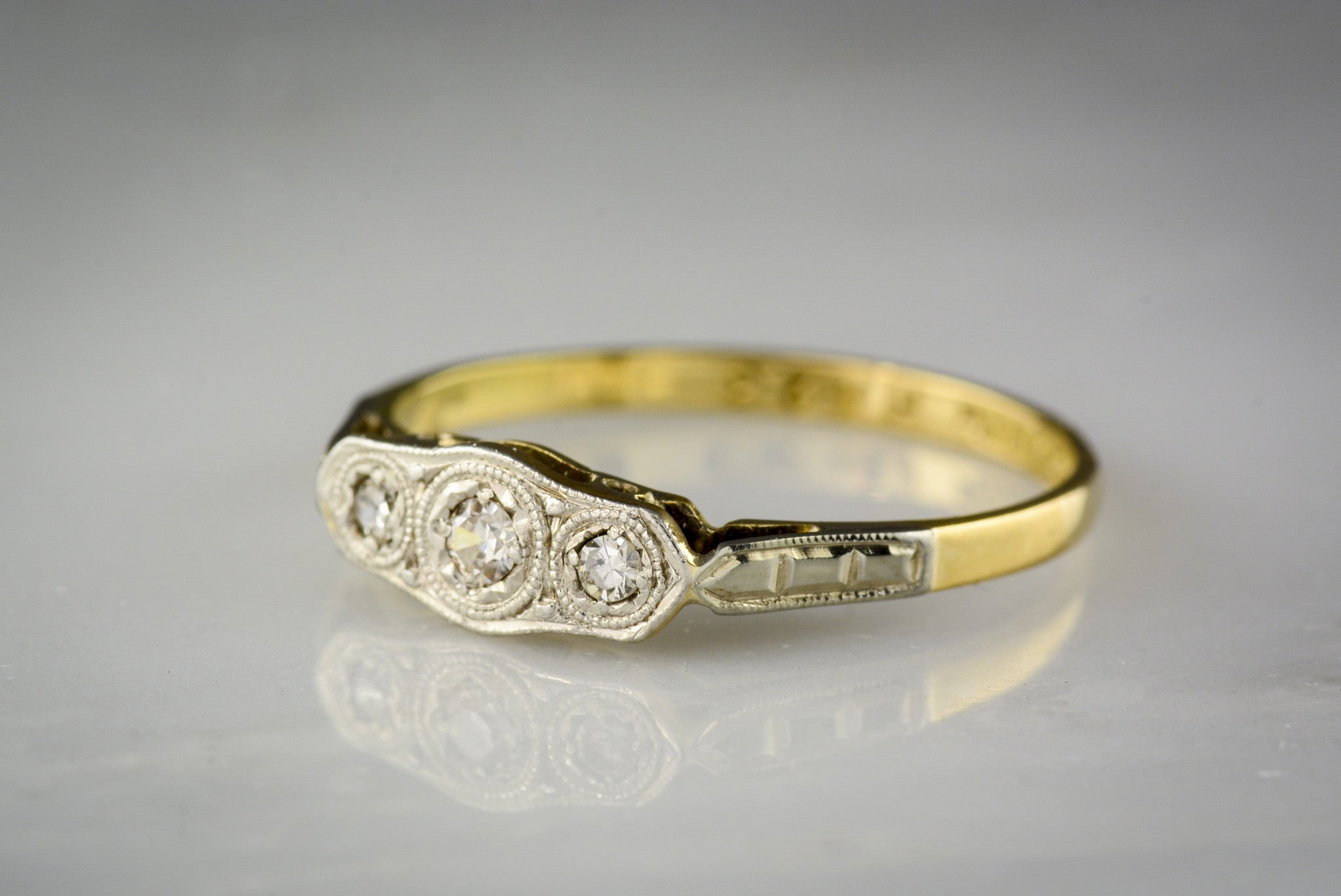 five stone victorian rings image diamond ring