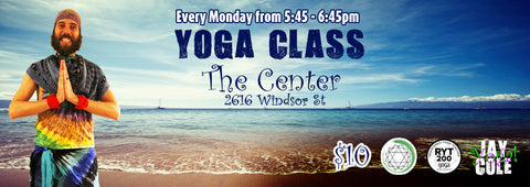 jaycoleyoga, jay cole, jay, cole, yoga, fitness, health, the center, center, find your center, halifax, nova scotia,