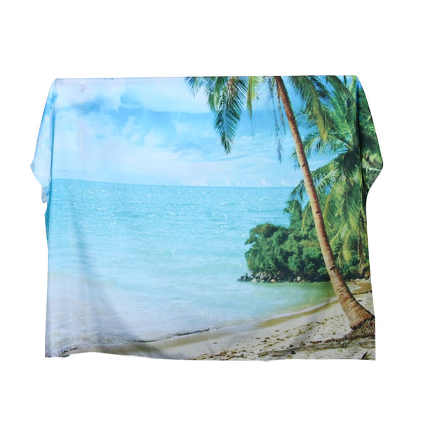 Beach Waterfall Hanging Wall Tapestry Bohemian Hippie Bedspread Home Decor