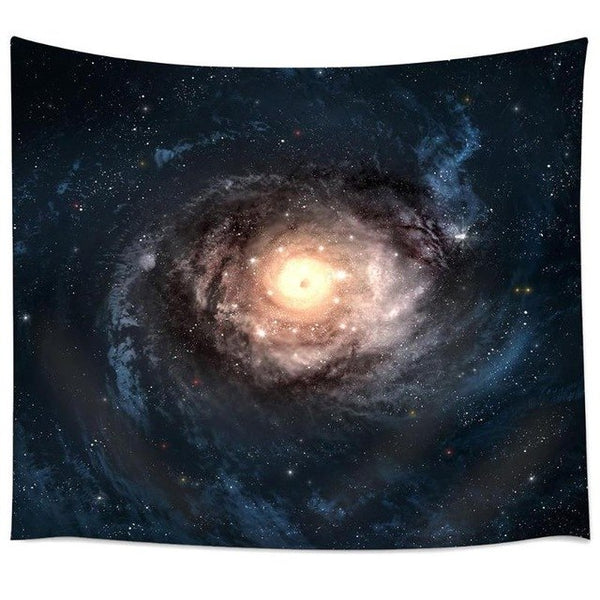 Starry Sky HD Digital Printing Wall Hanging Tapestry Tablecloth Picnic Pads Hippie Retro Home Decor Yoga Beach Towel 150x130cm