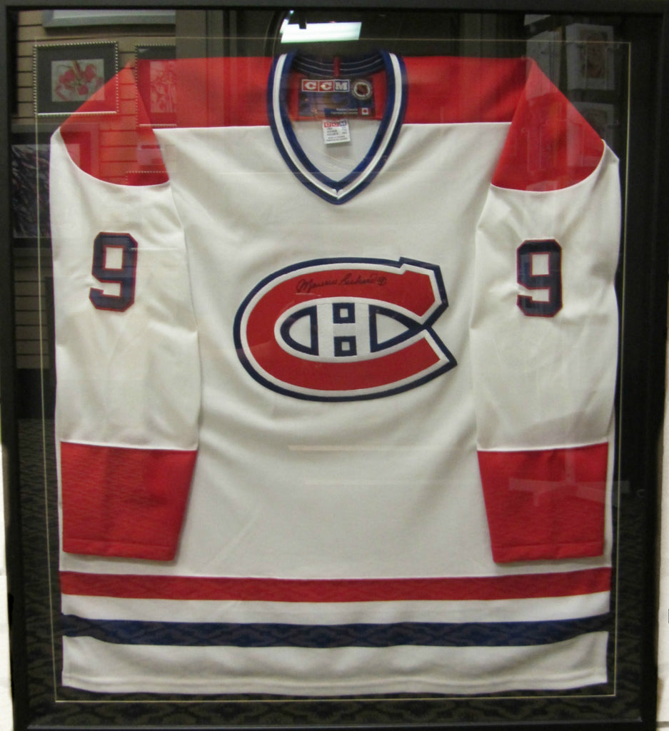 T-Shirt Maurice Richard encadré