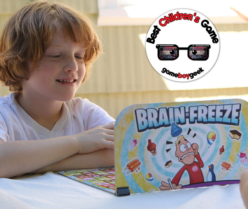 Brain Freeze Wins Best Children's Game of the Year Award from GameBoyGeek!