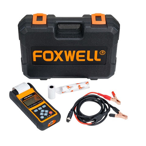Foxwell BT780 - Batteritester med printer - Bilskanner