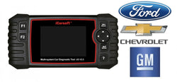 iCarsoft US V2 - Feilkodeleser Ford, GM, Chevrolet, Buick, Cadillac, GMC, Chrysler, Jeep