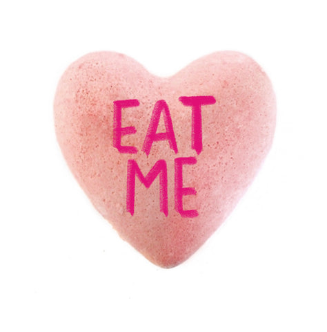 Eat Me- Naughty Conversation Heart Bath Bomb Valentine's Day