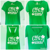 One Lucky Mama- St Patrick's Day shirt - Pick Me Cups