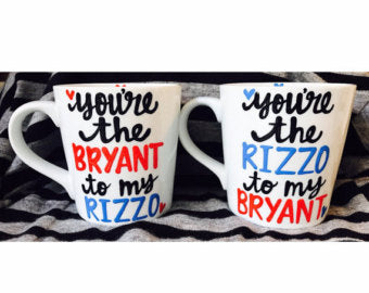 Bryant and Rizzo-awesome mug- Gifts for best friends- Funny Coffee Mugs - Pick Me Cups