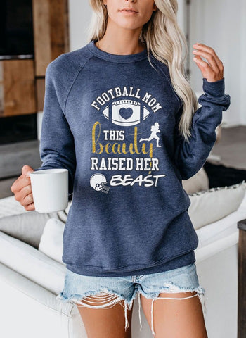 Football sweatshirt-