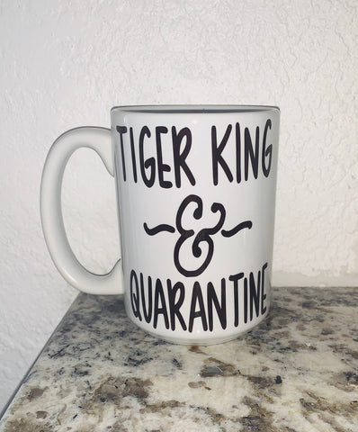 Tiger King and Quarantine- Joe Exotic is my spirit animal- - Social Distancing