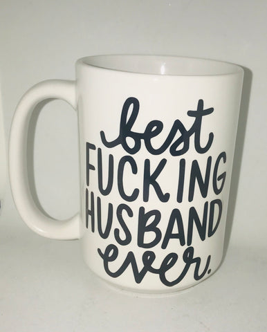 Best Fucking Husband- Father's Day Gift- Gifts for Husbands- Dad Gift- Anniversary Gift