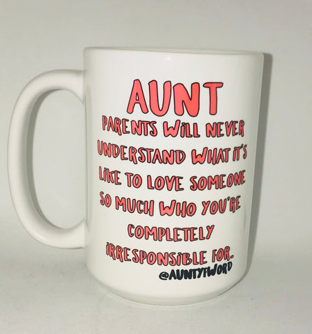 Aunt Mug-awesome mug- Gifts for Sisters- Gifts for Aunts- Funny Coffee Mugs - Pick Me Cups