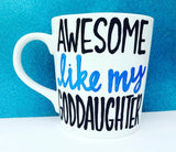 Awesome Like My Daughter Coffee Mug Father's Day Gift- Gifts for Dads- Dad Gift- Anniversary Gift- gifts for dad - Pick Me Cups