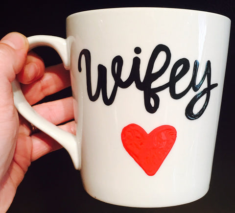 Wifey -awesome mug- Gifts for Mother's Day- Funny Coffee Mugs - Pick Me Cups
