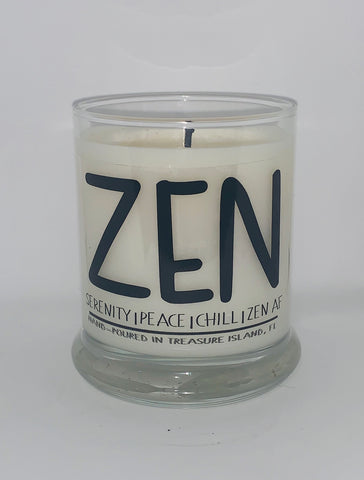 Zen Candle- Florida Candles- Quarantine