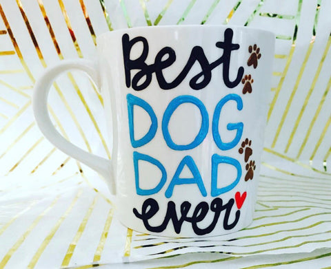 Best Dog Dad Ever Mug Father's Day Gift- Gifts for Dads- Dad Gift- Anniversary Gift- gifts for dad - Pick Me Cups