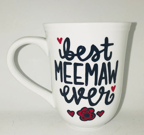 Meemaw Mug Gifts for Grandmas- Mother's Day Gift - Pick Me Cups